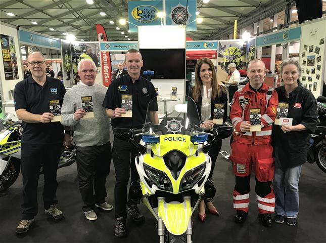 Launch of Biker NI Safety Card - JMK Solicitors
