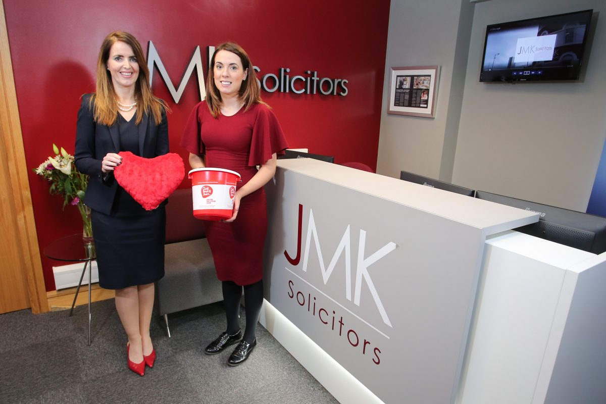JMK choose Northern Ireland Chest Heart and Stoke as 2019 Charity Partner