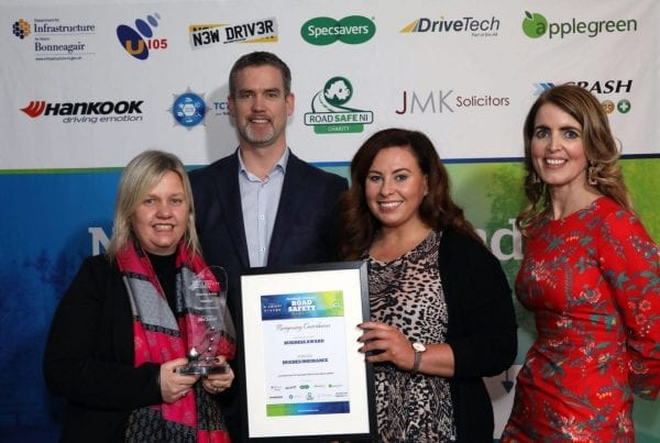 JMK Solicitors Road Safety Awards Business Category